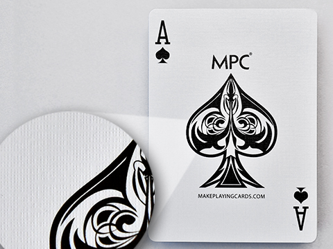 M32 master quality card stock with black core (linen air finish)