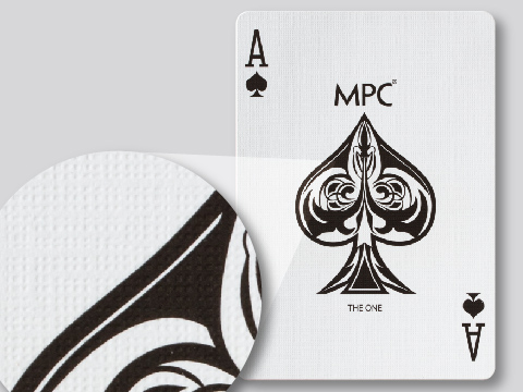M30 magic quality card stock with black core (linen air light finish)