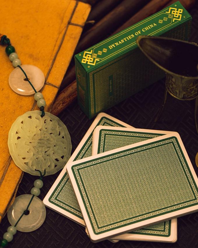 Jade green card back