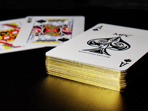 Gold Gilt Edged Cards