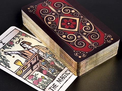 Silver Gilt Edged Cards