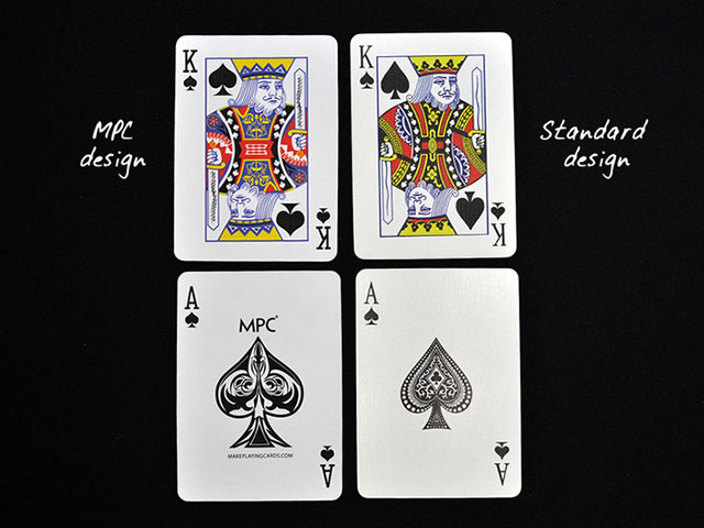 Redrawn cards