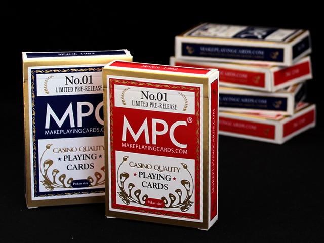 Gold foil stamped tuck box - MPC Standard decks