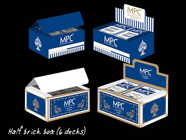 Half brick box (6 decks)