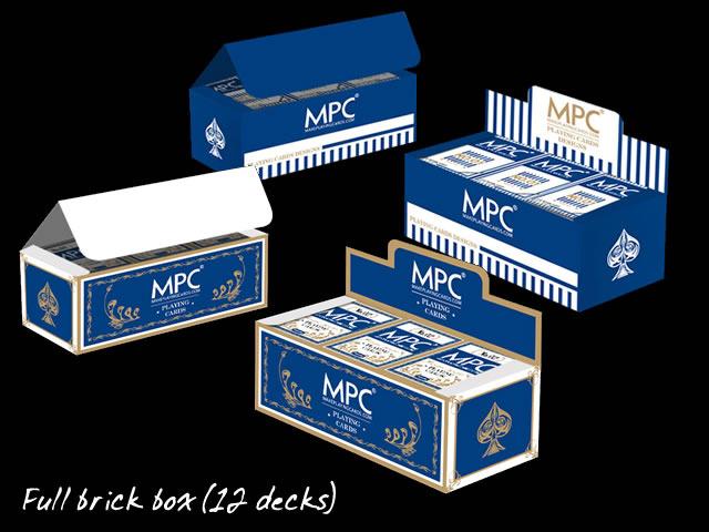 Full brick box (12 decks)