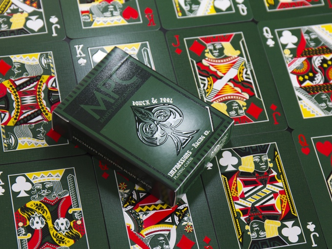 The MPC Impressions Racing Ed. playing cards