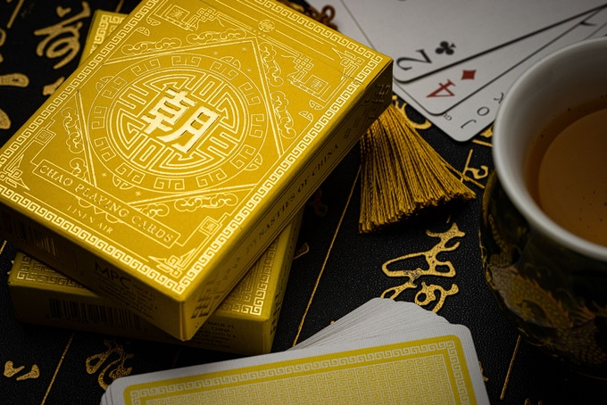 MPC CHAO Imperial Yellow Ed playing cards by MPC