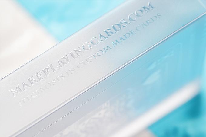 Transparent tuck box