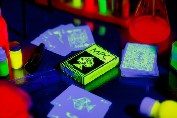Fluorescent playing cards by MPC
