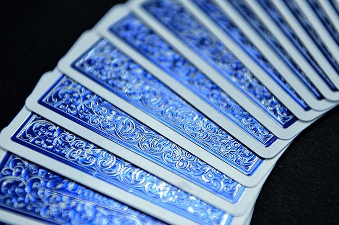 Impressions Foil Blue back