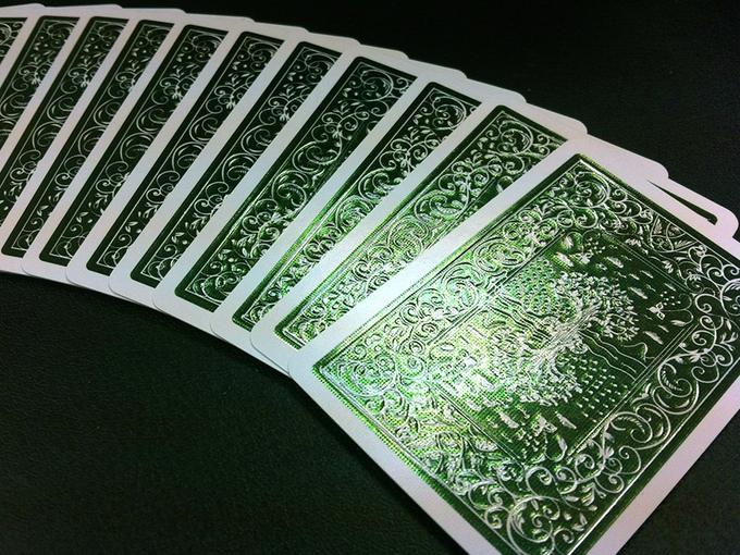 Green Foil back deck