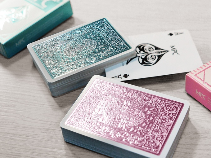 MPC Ace of Spades with foil back