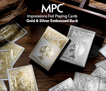 Impressions Foil Gold & Silver Playing Cards