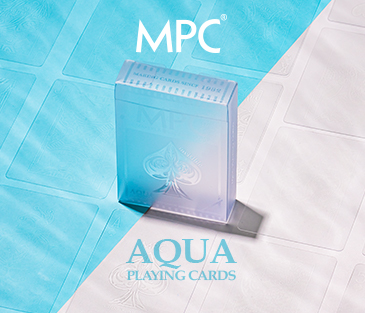 Aqua Playing Cards
