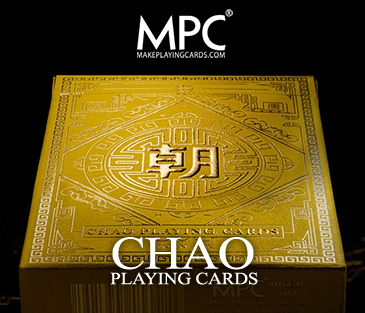 CHAO Playing Cards (Imperial Yellow Ed.)