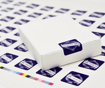Custom Card Box Seals