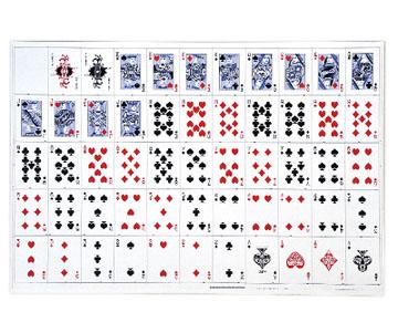 uncut sheet cards